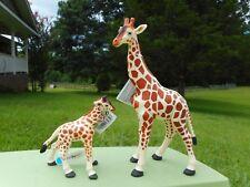 GIRAFFE AND CALF by Safari Ltd; toy/replica/giraffes/zoo animals