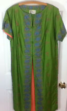 Vintage Kimono Style Dress Polynesian Casuals for Mcinerny Honolulu Approx Sz M