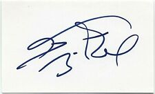 THEODORE BIKEL AUTOGRAPHED SIGNED 3x5 INDEX CARD SIGNATURE FIDDLER ON THE ROOF