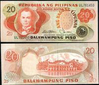 PHILIPPINES 20 PESO PISO 1978 P 162 UNC