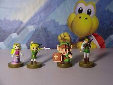 The Legend of Zelda 30th Anniversary Amiibo Set Nintendo Zelda Link
