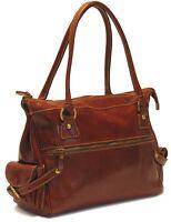 Floto Imports Monticello Handbag, Italian Leather