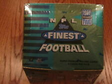 1997 Topps Finest Series 2 Football Hobby Box Factory Sealed