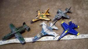 DIECAST A-10 WARTHOG F-16 FALCON F-18 HORNET HARRIER  ECT JOB LOT SPARES/REPAIR