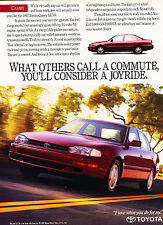 1993 Toyota Camry LE V6 Sedan   - Original Advertisement Car Print Ad J329