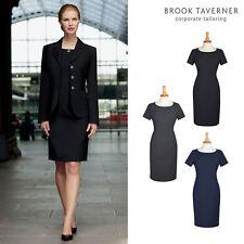 Brook Taverner Women's Teramo Dress 2289 - Ladies Business Meeting Office Wear