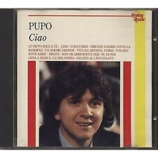 PUPO - Ciao - CD 1992 REPLAY MUSIC USATO BUONE CONDIZIONI