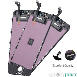 3x ERSATZ DISPLAY SCHWARZ FÜR iPHONE 6 LCD TOUCHSCREEN FRONT GLAS RETINA 3er SET