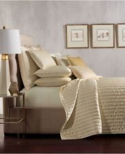 Hotel Collection Full/Queen Quilted Coverlet Embroidered Frame $300 Value