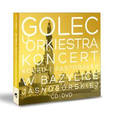 """GOLEC uORKIESTRA """"KONCERT KOLĘD PASTORAŁEK  z Bazyliki Jasnogórskiej"""" CD/DVD"""