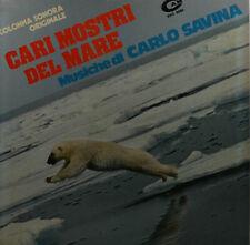 """Cari Mostri Del Mare - Carlo Savina - LP 12 """" (Z634)"""