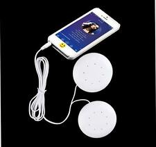 Dual 3.5mm Speakers Music Player dual speakers Pillow 1pc for MP3/ MP4 Music