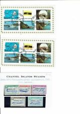 3 Stamps Channel Islander Regional Stamp Issues