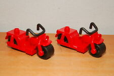 Lego Duplo Red Motorcycle