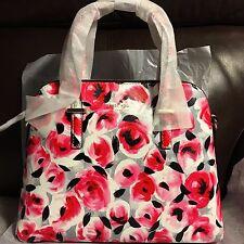 NWT Authentic Kate Spade Cedar Street Rose Maise Handbag Purse Posy Red Multi