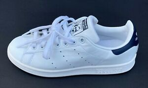 Adidas Originals Men's Stan Smith US 6 Shoes White Blue Navy, Free Shipping