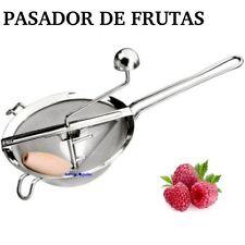 PASADOR DE FRUTAS INOXIDABLE PARA MERMELADAS... (pasapures pasapure chino fruta)