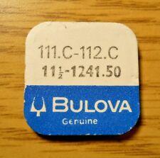 112C Upper Lower Hole Jewel Setting Bulova Caravelle 1241.50 11 1/2 Part 111C-