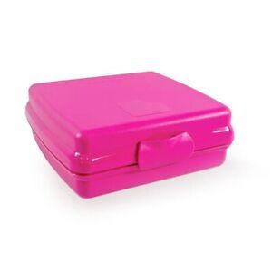 Tupperware Pink Sandwich Keeper New
