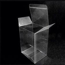 "1 X 4"" cajas de plástico transparente de un solo Cupcake Muffin Tamaño De Cristal De Pvc."