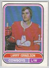 75-76 OPC O-Pee-Chee WHA Larry Israelson #46 (VG - Ex)