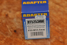 Adattatore Lente Raynox RT5253NW Tubo Per Nikon Coolpix 5700-WIDE ANGLE ADAPTER