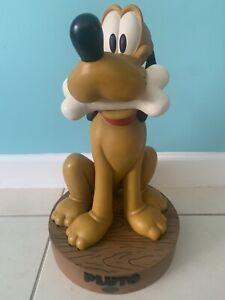 ** 2001 Disney PLUTO Big Fig & Base - Limited Edition - Big Figurine **