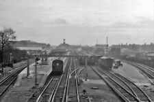 PHOTO  KENT  BROMLEY NORTH RAILWAY STATION 1961 VIEW SW TOWARDS BUFFER-STOPS