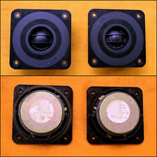 1970's PHILIPS AD11400 T8 Square Tweeters (70W RMS)
