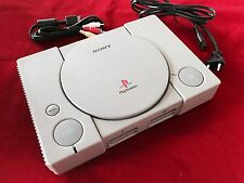 PS1 Konsole FAT Grau Sony Playstation 1 PAL Inklusive Alle Anschlusskabel