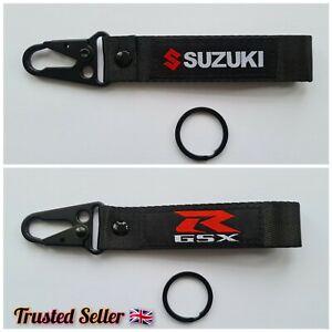 Suzuki Keyring Keychain Strap GSXR Hayabusa 1300R R600 R750 R1000 R1100 GIXXER