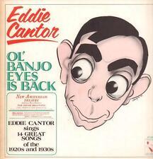 Eddie Cantor(Vinyl LP)Ol' Banjo Eyes Is Back-Pelican-LP 134-UK-1974-Ex-/Ex