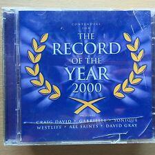 Artistes Divers - RECORD DE L'année 2000 ~ ROCK pop album de Compilation CD