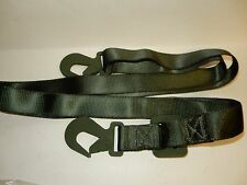 U.S. MILITARY GREEN 9 FOOT CARGO STRAP NEW 2 PACK
