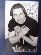Marcus Lovett - Autograph (BC2)  5.5 x 3.5  inch