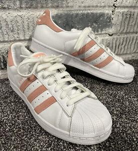 Adidas Originals Superstar Glow Pink Women's Shoes EF9249 9.5 Worn Once EUC