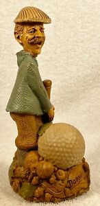 DORMIE-R 1991~Tom Clark Gnome~Cairn Item #5164~Ed #63~Golf Fan~Story Included