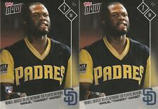 Manuel Margot YOANDRY PADRES TOPPS NOW PLAYERS WEEKEND BOTH Error PW-118 SP 52