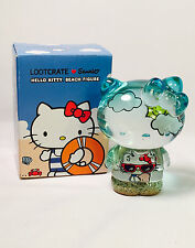 HELLO KITTY Transluscent Sandy Beach Figure Hello Kitty Sanrio Loot Crate