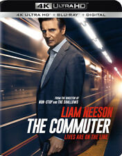 THE COMMUTER (Liam Neeson)   (4K ULTRA HD ) - Blu Ray -Region free