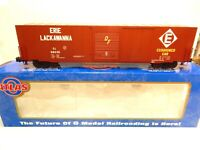 Atlas ACF 60' Erie-Lackawanna Auto Parts Box Car- 3 rail- Mint w original box!--