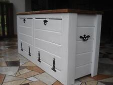 De Madera Caja De Zapato Alacena Gabinete para rack pasillo Pino almacenamiento asientos Bench (jl5)