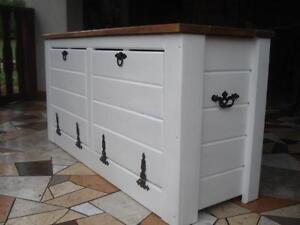 Wooden Shoe Box Cupboard Cabinet Rack Hallway Pine Storage Seating Bench (JL5)