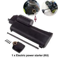 1set Arrancador eléctrico de mano para 1/10 1/8 HSP REDCAT Nitro RC Car Buggy