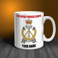 Royal Pioneer Corps Personalised Ceramic Mug Gift