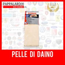 PANNO PELLE DI DAINO PREMIUM ! NATURALE 100% SUPER ASSORBENTE! AUTO MOTO SONAX