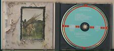 Led Zeppelin - IV (Untitled), Made in West Germany by Polygram, Rare, Target CD!