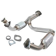 Catalytic Converter Exhaust Y-Pipe For 1999-2005 Silverado Sierra Yukon Escalade