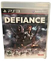 Defiance (Sony PlayStation 3, 2013) PS3 Disc & Case A Playstation Network Game