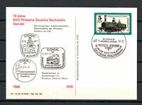"DDR, SoP MiNr. 2254 SSt ""Stendal - 10 J. BAG Philatelie"" DR 09.04.1978"